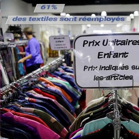 Que deviennent vos vêtements donnés au Relais ?