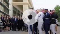 George H.W. Bush hospitalisé en urgence au lendemain de l'enterrement de son épouse Barbara