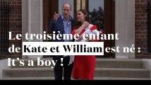 """Le 3e """"royal baby"""" de Kate et William est né : """"It's a boy !"""""""