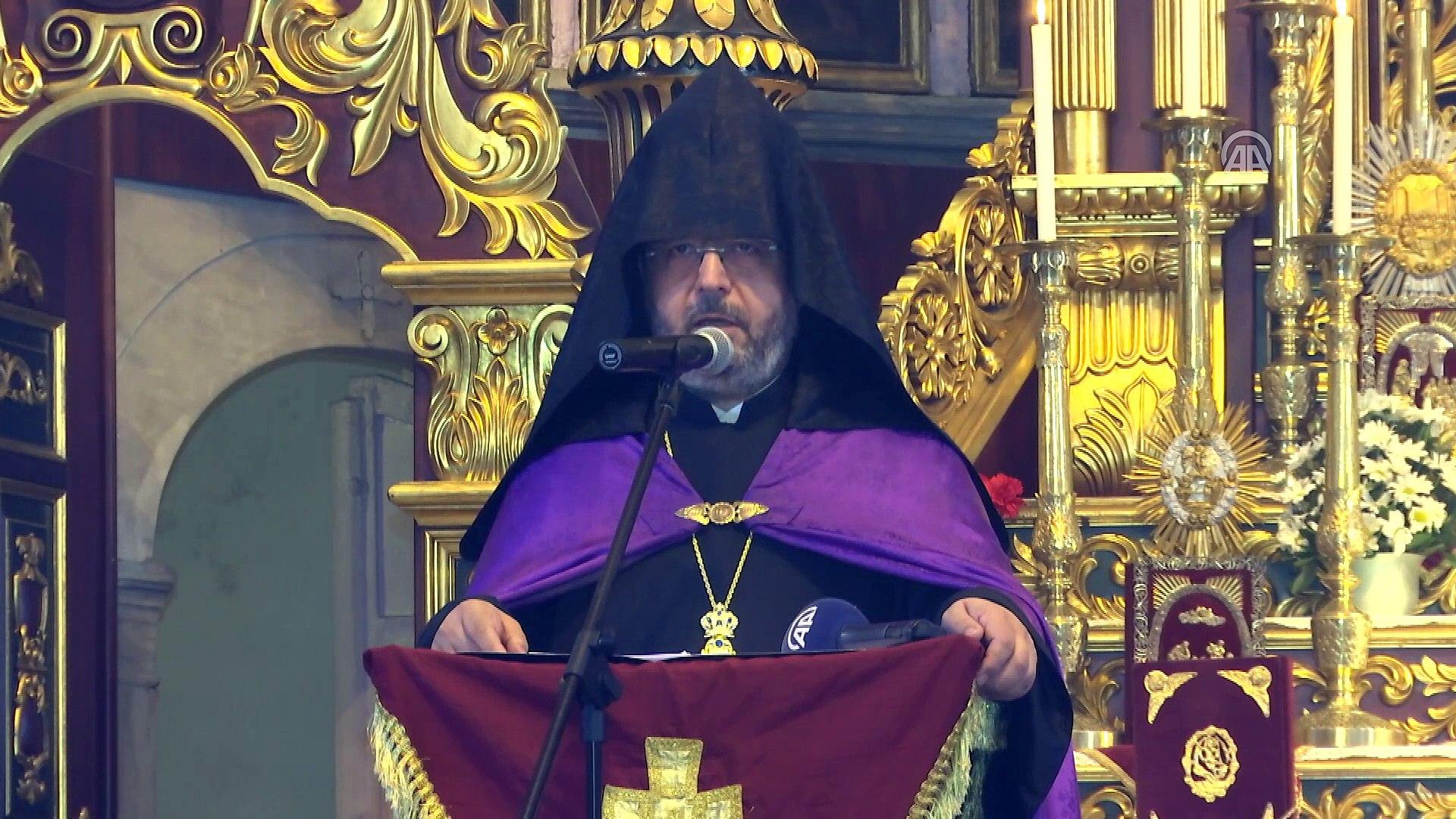 Ermeni Patrikhanesi'nde ayin - Cumhurbaşkanı Erdoğan'ın mesajı - İSTANBUL