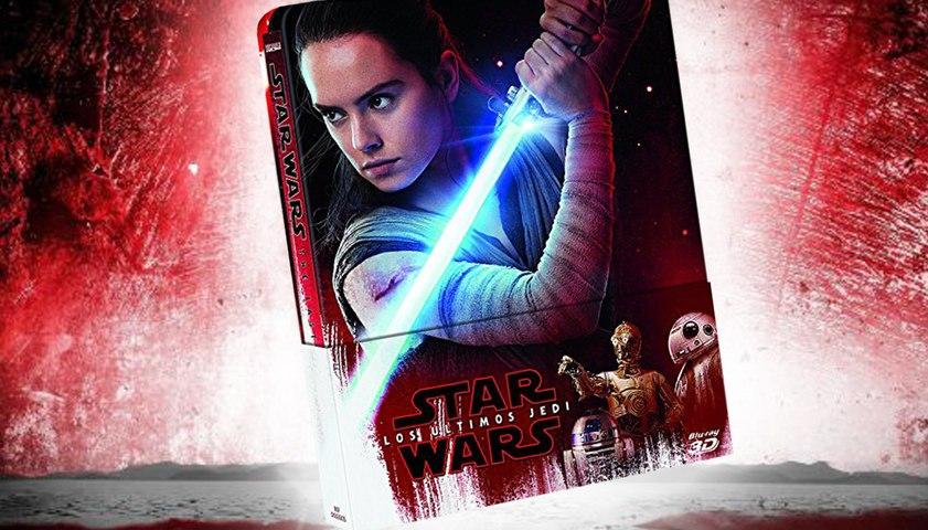 Star Wars Episodio 8 - Unboxing del steelbook