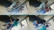 फिल्मी स्टाइल में हवलदार से मारपीट कर फरार हुए कैदी, देखिए वीडियो