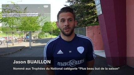 Réaction : J. Buaillon, nommé aux Trophées du National