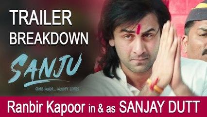 Sanju Teaser Breakdown: Ranbir Kapoor in and as Sanjay Dutt