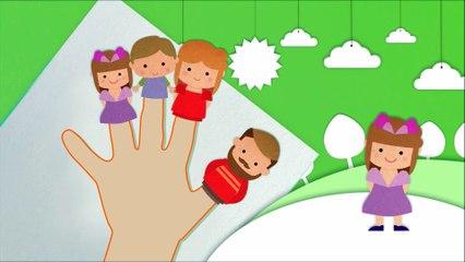बतख का गीत - Finger Family and Baby Duck | Nursery Rhymes KIDS Songs