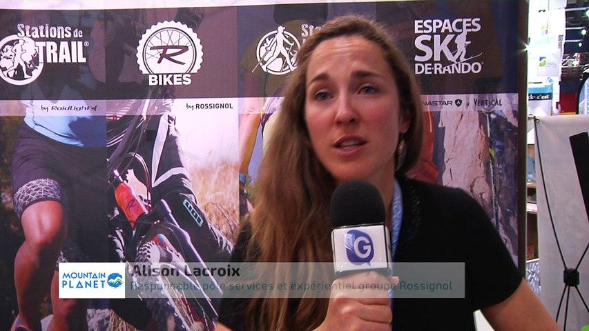 Mountain Planet 2018 - Interview d'Alison Lacroix