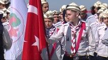 Çanakkale-Çanakkale Kara Savaşları'nın 103'üncü Yıl Dönümünde Anma Töreni Düzenlendi-1
