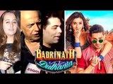 बॉलीवुड सेलेब रिव्यु Of Badrinath Ki Dulhaniya | Karan Johar, Alia Bhatt, Varun Dhawan