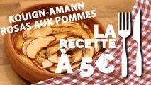 RECETTE À 5€ :  Rosas aux pommes façon kouign amann