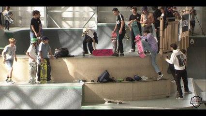 Chpt de France de skate - 2ème étape à Biarritz
