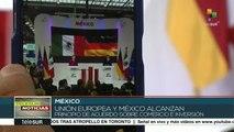 UE y México alcanzan principio de acuerdo de libre comercio