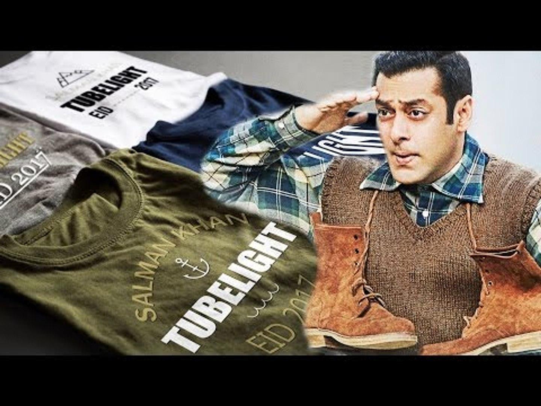 Salman Khan की TUBELIGHT के T-Shirts Market में बोहत जोर से बिकने लगे है