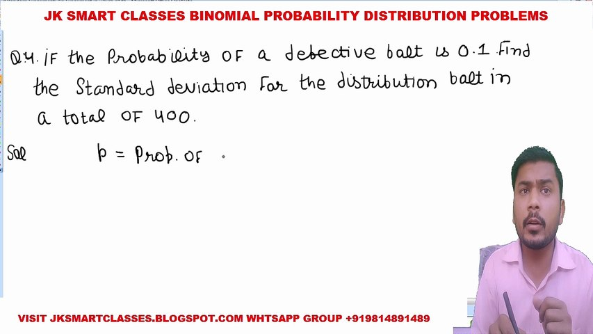 Binomial Distribution Lecture #7 How to Solve Binomial Probability Distribution Problems in Hindi