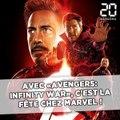 «Avengers Infinity War»: Les superhéros font la fête et on est tous invités