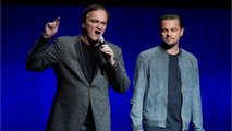 Tarantino & DiCaprio Talk 'Once Upon A Time In Hollywood' At CinemaCon 2018