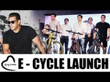 Being Human Electric Cycle Launch | Salman Khan, Soail Khan, Ahil, Arbaaz Khan