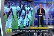 Selección peruana: ritmo de jugadores de la 'bicolor' causa sensación