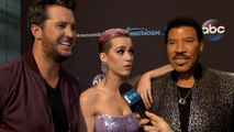 "Katy Perry, Lionel Richie & Luke Bryan Dish on ""AI"" Save"