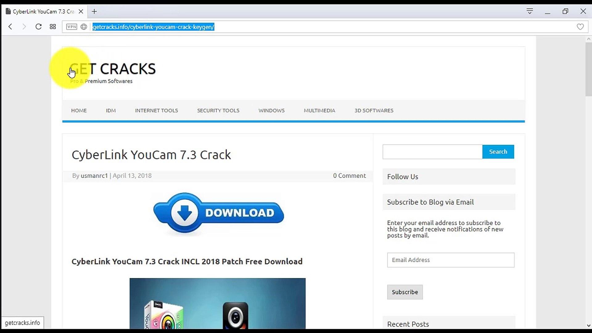 CyberLink YouCam 7 3 Crack