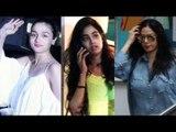 Sridevi, Janvi Kapoor और Alia Bhat दिखाई दी Juhu Salon में Hair Cutting के लिए