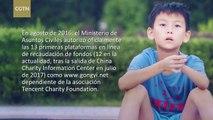 ¿Cómo funciona la Ley de Caridad de China y cómo fomenta las donaciones en línea?