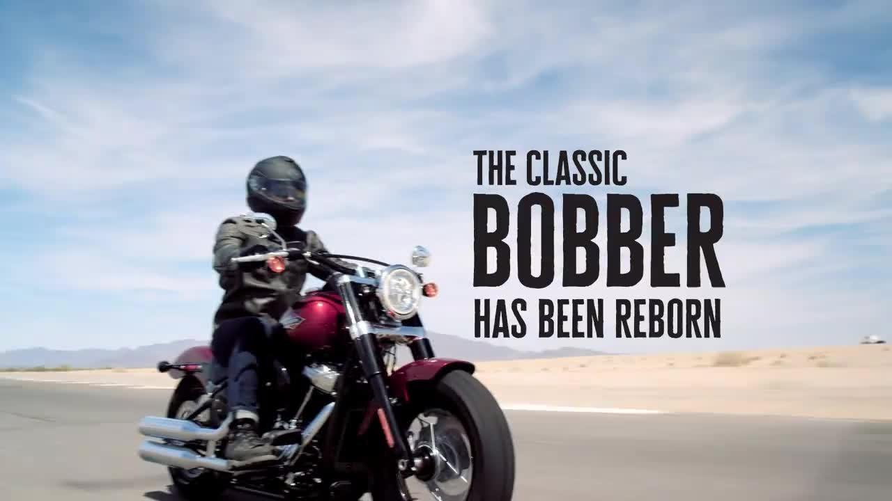 The All-New 2018 Harley-Davidson Softail Slim | Harley-Davidson