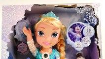 """Muñeca ELSA Habla y Canta """"Let it Go""""  Muñeca Elsa Niña y Princesa Rapunzel Niña Disney + Olaf"""