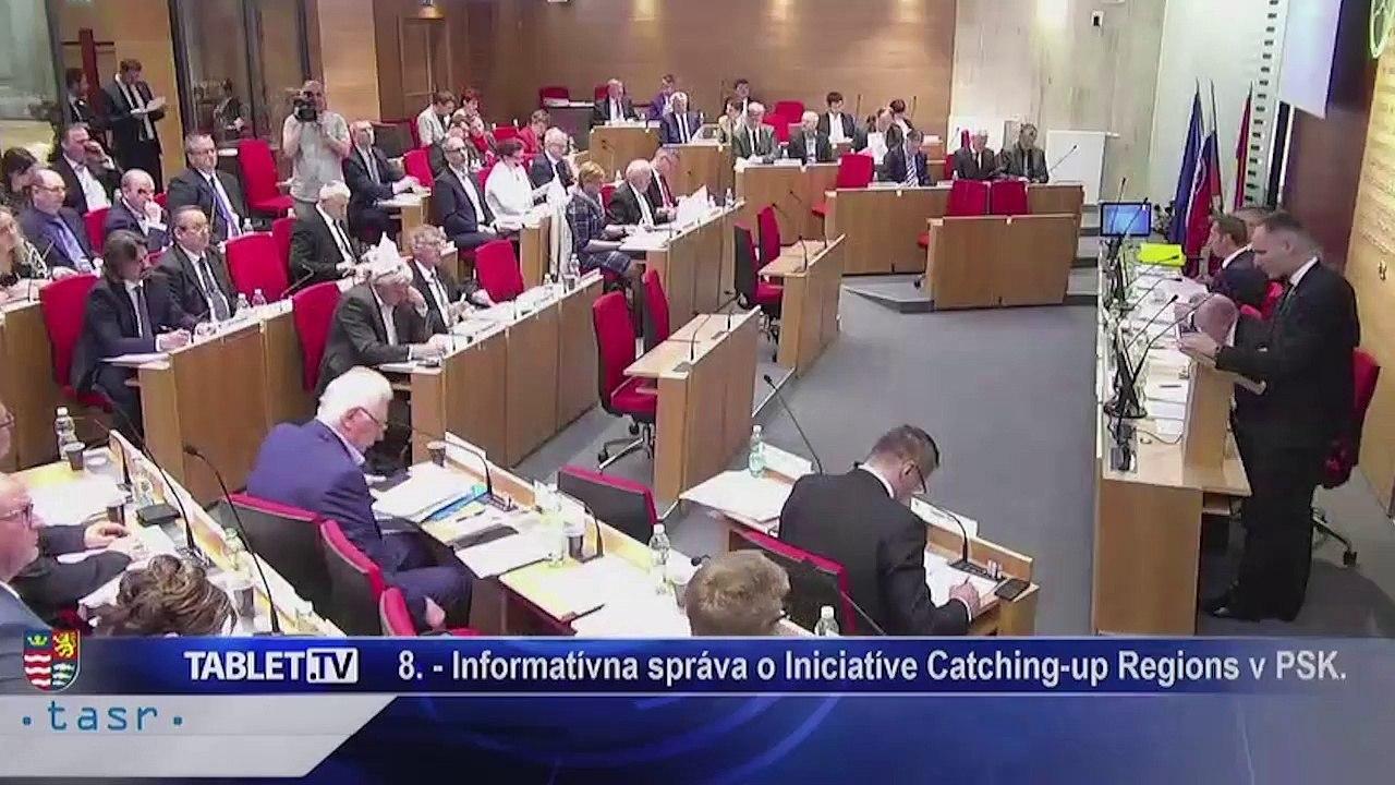 PREŠOV-PSK 04: Záznam zasadnutia Zastupiteľstva Prešovského samosprávneho kraja (PSK)