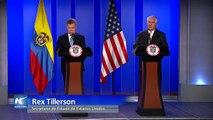 Tillerson asegura que Estados Unidos comprometido a continuar lucha contra el narcotráfico