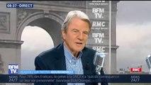 """""""Beaucoup de petits bisous"""" mais un Emmanuel Macron """"très habile"""" avec Trump, estime Bernard Kouchner"""