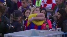Polémique en Espagne : les supporters du Barça forcés de jeter leurs t-shirts jaunes à l'entrée du stade