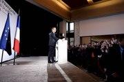 Discours du Président de la République, Emmanuel Macron, à la communauté française à Washington