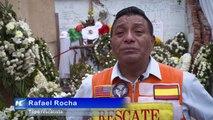 Rescatistas, héroes anónimos del sismo en México
