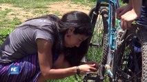 Buscan mejorar la vida de las mujeres a través del ciclismo