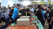Gran ambiente en Robotix Faire México, competencia de robótica de niños