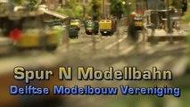 Spur N Modellbahn der Delftse Modelbouwvereniging - Ein Video von Pennula über Modellbahnanlagen und Modelleisenbahnanlagen