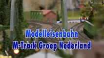 Modelleisenbahn M-Track Groep Nederland Modelspoorbaan - Ein Video von Pennula über Modellbahnanlagen und Modelleisenbahnanlagen