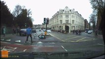 Des passants stoppent un cycliste poursuivi par la police (Cardiff)