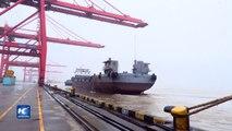 Nuevo progreso en canal de aguas profundas del río Yangtse