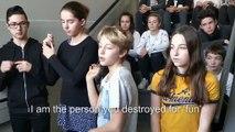 I AM THE PERSON - Court métrage des élèves de 4ème1 du collège Pesquier de Gardanne sur la thématique du harcèlement scolaire