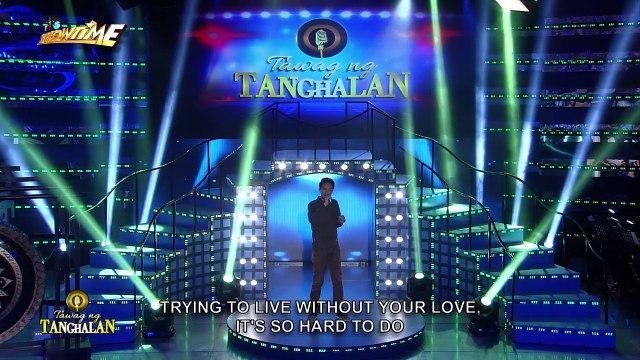 Tawag ng Tanghalan: Vhon Abellar | Don't Let It End
