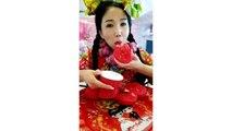 LET'S EAT SHOW COMPILATION-CHINESE FOOD-MUKBANG-challenge-Beauty eat strange food-asian food-NO.146