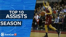 7DAYS EuroCup, Top 10 Assists of the Season