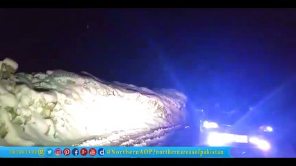 Naran Glacier Midnight travelling