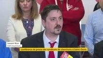"""Grève à la SNCF : Les organisations syndicales de cheminots demandent le """"remboursement des usagers à hauteur de 40 % minimum"""" en raison des perturbations sur le trafic, annonce Laurent Brun, de la CGT Cheminots"""