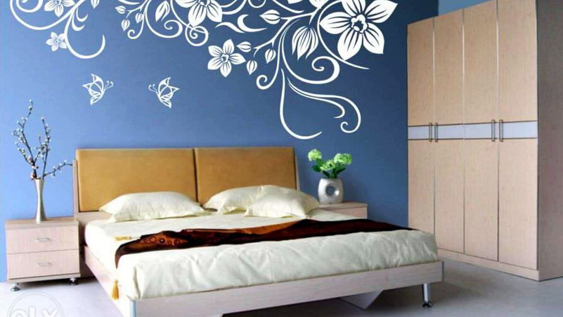 Wall Painting Ideas For Bedroom Design Video Dailymotion