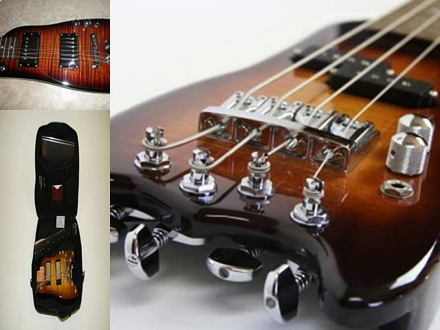 Electric Portable Guitar, Guitars – Strobel Guitars