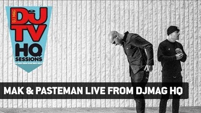 Mak & Pasteman's 60 minute house set from DJ Mag HQ