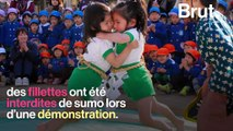 VIDEO - Le sumo, un sport misogyne ?