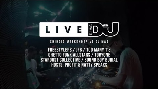 Shindig Weekender Vs. DJ Mag (DJ Sets)